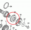 OIL SEAL - MAIN GEARBOX OUTPUT SHAFT