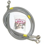 BRAKE LINES - HEL STAINLESS STEEL - 2 LINE FRONT KIT